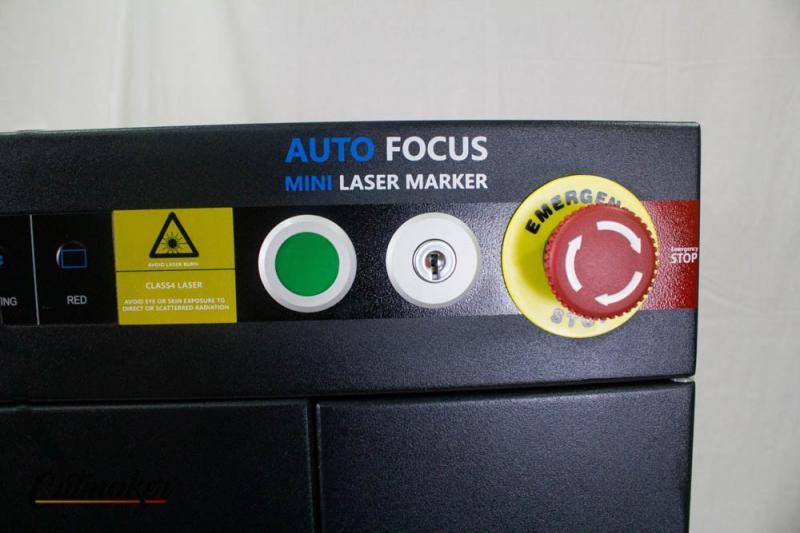 Máquina de gravação a laser de fibra