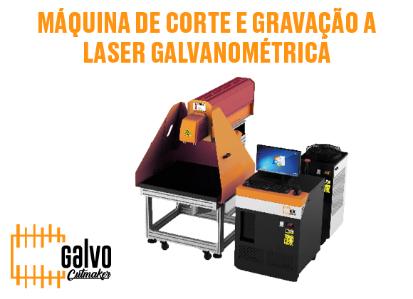 Máquina de Corte e Gravação a Laser Galvanométrica