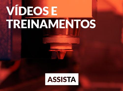 vídeos e treinamento